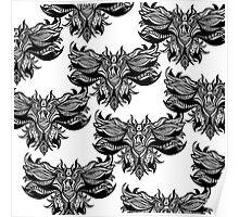 owl pattern Poster