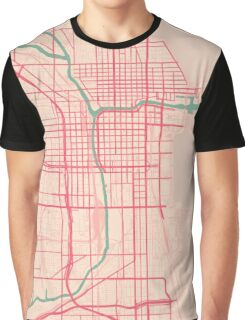 Chicago Map (Spring)  Graphic T-Shirt