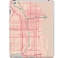 Chicago Map (Spring)  iPad Case/Skin