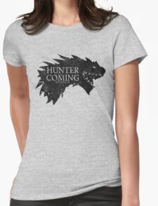 Hunter is Coming - Rathalos Womens Fitted T-Shirt