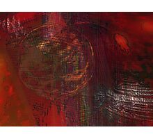 Movements in Red Photographic Print