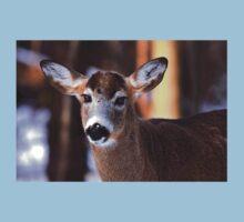 Bright eyes - White-tailed Deer Baby Tee