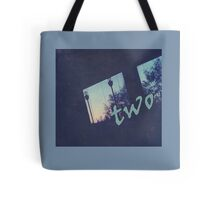 two, love, compromise Tote Bag