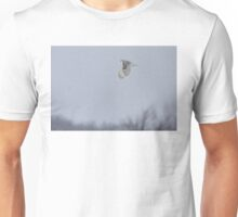 Snowy owl...high above the treetops T-Shirt