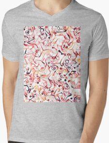 Hipster Pattern 4 Mens V-Neck T-Shirt