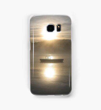 Waiting for fun - Dock on lake Samsung Galaxy Case/Skin