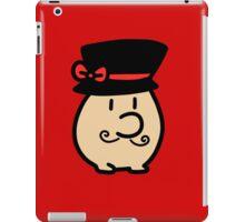 Fancy Mr. Saturn iPad Case/Skin