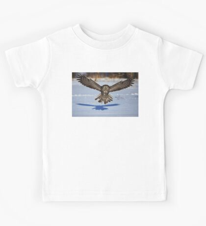 In your face - Great Grey Owl Kids Tee
