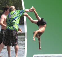 Lake Plunge OOB Sticker