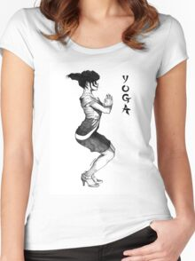 Yoga In High Heels Women's Fitted Scoop T-Shirt