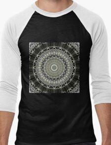 Graphics Out Of The Kaleidoscope Light Men's Baseball ¾ T-Shirt