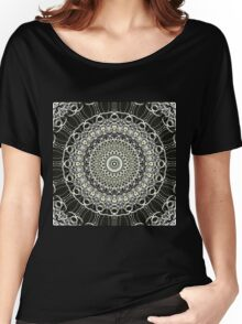 Graphics Out Of The Kaleidoscope Light Women's Relaxed Fit T-Shirt