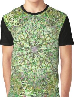 Delicate Green Garden Growth Graphic T-Shirt
