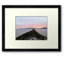 The Neck Framed Print