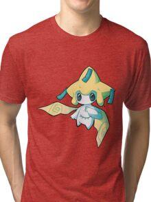 Pokemon - Jirachi Tri-blend T-Shirt