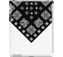 Black Bandanna  iPad Case/Skin