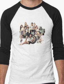 snsd bg Men's Baseball ¾ T-Shirt