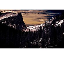 Nature Rules - Majestic Mountain View Photographic Print