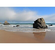 Faint Rainbow on Sango Bay Photographic Print