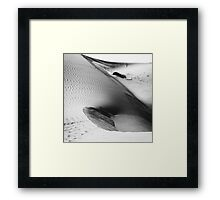 Desert waves #3 Framed Print