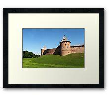 Fortress Novgorod Kremlin Framed Print