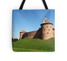 Fortress Novgorod Kremlin Tote Bag