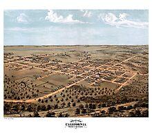 California - Missouri - United States - 1869 Photographic Print