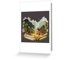 The Book Of Jungle Mowgli n Bagheera Greeting Card
