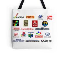 arcade logos videogames consolas Tote Bag