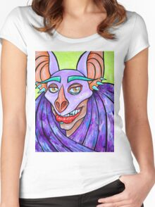 Chiroptera Women's Fitted Scoop T-Shirt