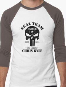 seal team sniper  Men's Baseball ¾ T-Shirt