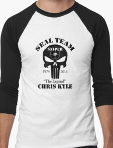 seal team sniper  Men's Baseball ¾ T-Shirt
