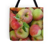 Basket of Fresh Handpicked Cox Apples Tote Bag