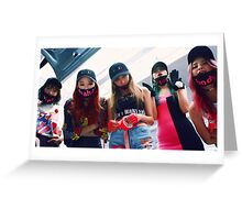 exid hot pink 02 Greeting Card