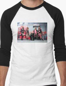 HOT PINK EXID Men's Baseball ¾ T-Shirt