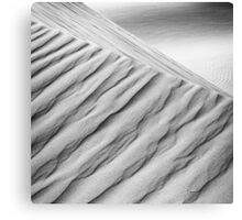 Desert waves #10 Canvas Print