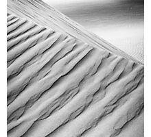 Desert waves #10 Photographic Print
