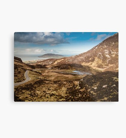 Mamore Gap Co. Donegal Metal Print