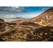 Mamore Gap Co. Donegal Photographic Print