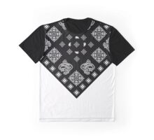 Black Bandanna  Graphic T-Shirt