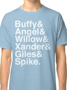 The Scooby Gang Classic White Classic T-Shirt