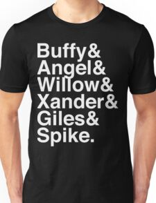 The Scooby Gang Classic White Unisex T-Shirt