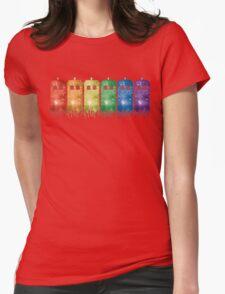 Rainbow Galaxy Tardis T-Shirt