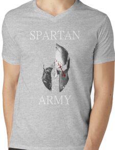Spartan Army Mens V-Neck T-Shirt