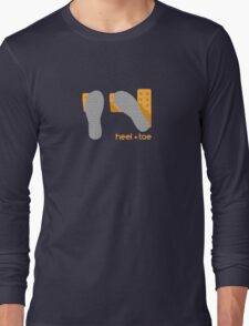 heel toe Long Sleeve T-Shirt