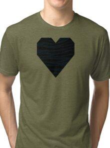 0574 Rich Black (FOGRA29) Tiger Tri-blend T-Shirt