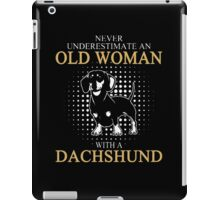 Never Underrestimate An Old Woman iPad Case/Skin