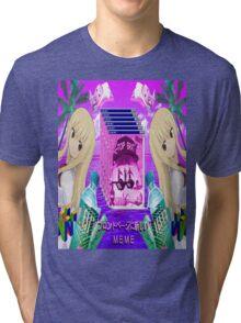UMARU - VAPORWAVE AESTHETIC Tri-blend T-Shirt