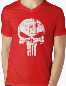 Punisher Mens V-Neck T-Shirt
