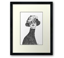 This is not Yoko Ono Framed Print